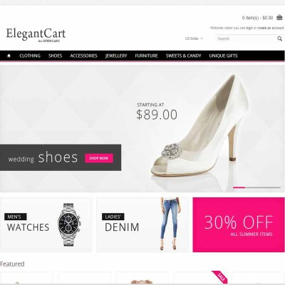 Скачать ElegantCart - A Premium, Responsive OpenCart Theme на сайте rus-opencart.info