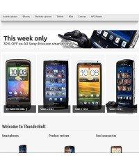 Thunderbolt - premium OpenCart theme