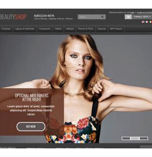 Скачать BeautyShop - Premium OpenCart theme на сайте rus-opencart.info