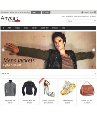 Anycart - Elegant and responsive OpenCart theme