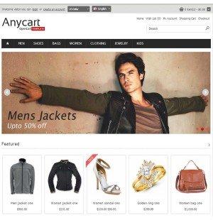 Скачать Anycart - Elegant and responsive OpenCart theme на сайте rus-opencart.info