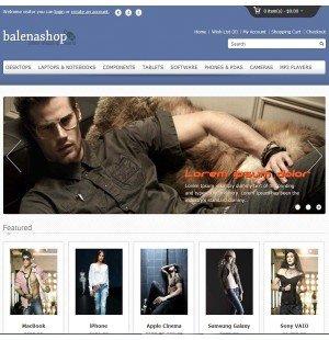 Скачать Balenashop – HTML 5 Open Cart Theme на сайте rus-opencart.info