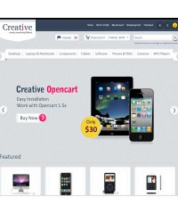Creative Opencart Theme