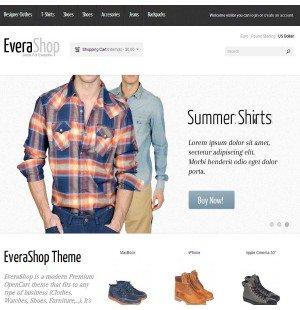 Скачать EveraShop Premium OpenCart Responsive Theme на сайте rus-opencart.info
