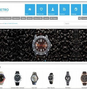 Скачать Metro - Multi-Purpose Responsive OpenCart Theme на сайте rus-opencart.info