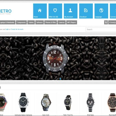 Скачать Metro - Multi-Purpose Responsive OpenCart Theme на сайте rus-opencart.info