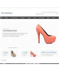 Nicole Shop opencart theme