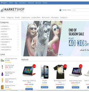 Скачать MarketShop - Multi-Purpose Premium OpenCart Theme на сайте rus-opencart.info