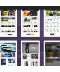 Lexus Market-Responsive Opencart Theme
