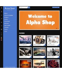 themeforest alpha shop
