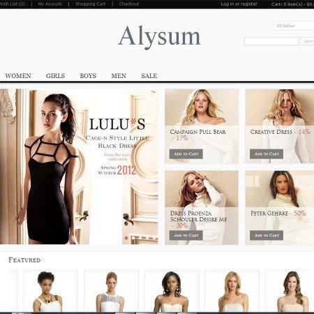 Скачать Alysum - Premium OpenCart Theme with Extras на сайте rus-opencart.info