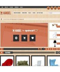 Handel - Unique & Modern OpenCart Template