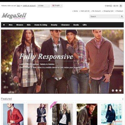 Скачать Megasell - Elegant & Responsive Opencart Theme на сайте rus-opencart.info