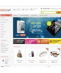 Mega Shop - Responsive OpenCart Theme