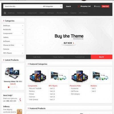 Скачать MegaStore - OpenCart Theme на сайте rus-opencart.info