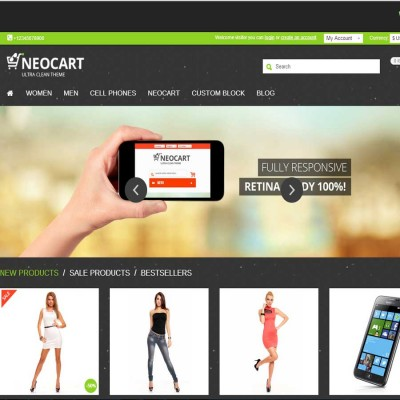 Скачать NeoCart - Premium Responsive Retina OpenCart Theme на сайте rus-opencart.info