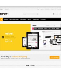 Newa: Responsive HTML5 OpenCart Theme