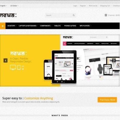 Скачать Newa: Responsive HTML5 OpenCart Theme на сайте rus-opencart.info