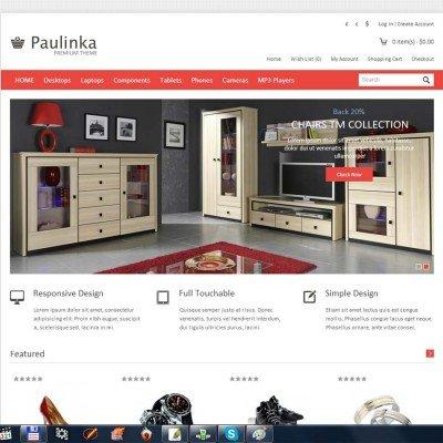 Скачать Paulinka Responsive OpenCart Theme на сайте rus-opencart.info