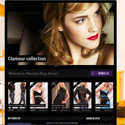 Скачать Phantom Shop theme opencart на сайте rus-opencart.info