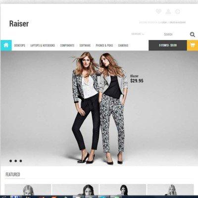 Скачать Raiser Premium OpenCart Theme на сайте rus-opencart.info