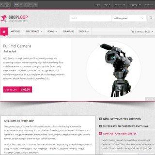 Скачать Shoploop Responsive HTML5 OpenCart Theme на сайте rus-opencart.info