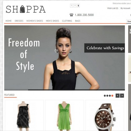 Скачать Shoppa Multi-Purpose OpenCart Theme на сайте rus-opencart.info