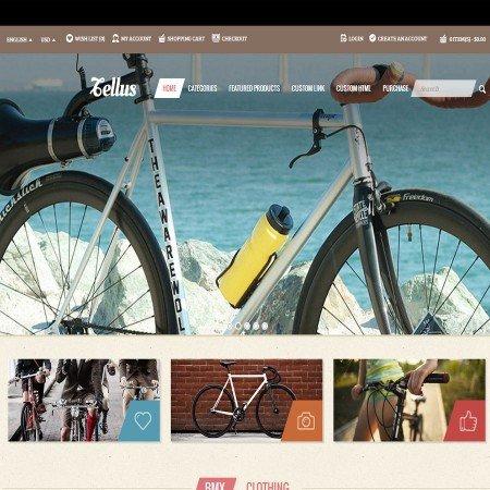 Скачать Tellus - Responsive OpenCart theme на сайте rus-opencart.info